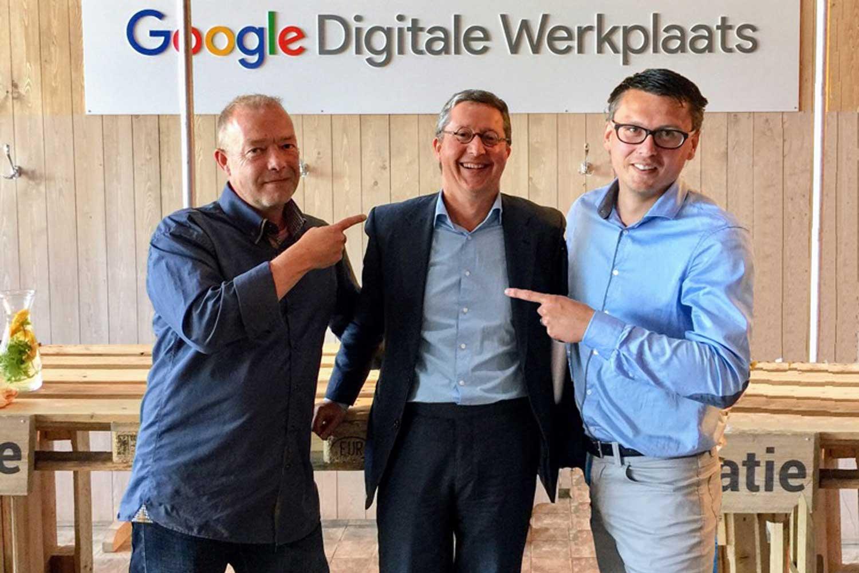 SEO experts met Google zoekmachine optimalisatie Digitale werkplaats