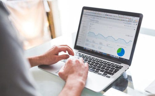 SEO specialist in Google Analytics